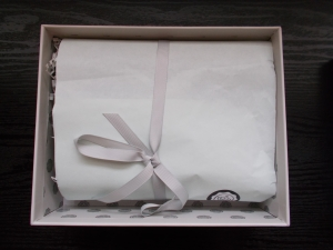 Unwrapping glossybox