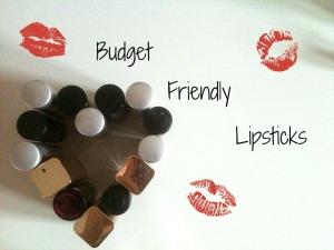Budget Friendly Lipsticks