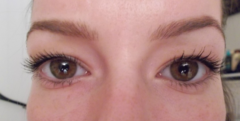 L: Roller Lashes - R: They're Real