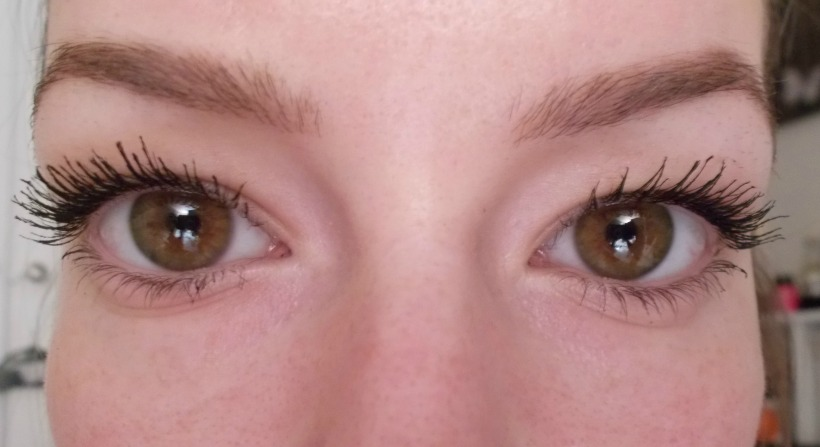 L: Roller Lash - R: They're Real