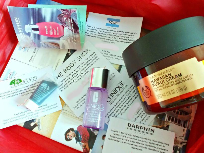Bonus Beauty Box Unboxing