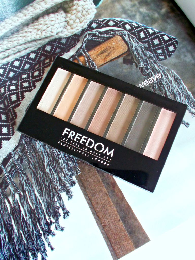 Freedom Makeup Matte Palette Review